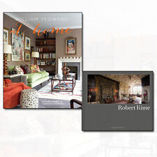 Robert Kime and William Yeoward At Home Elegant living in town 2 Books Set NEW