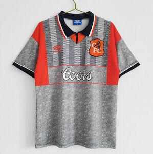 CHELSEA FOOTBALL CLUB RETRO 94/96 AWAY ORANGE COORS SHIRT REPO SUPER RARE!!