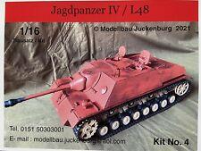 1:16 Modell Bausatz Model Kit / Jagdpanzer IV / L48 / RC Panzer 1 2 3 4 Tank