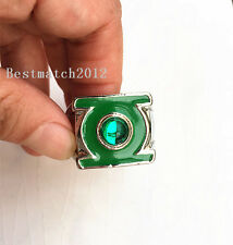 Green Lantern Green Gem Ring  US11