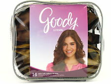 GOODY MOSAIC SATIN PILLOW SOFT HAIR ROLLERS - 16 PCS. (15111)