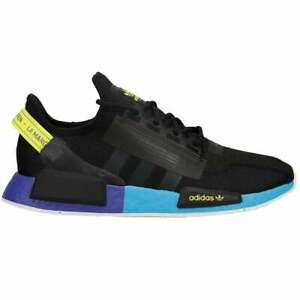 adidas Nmd_R1 V2 Men's Sneakers (Size 12) Black / Blue FX4147