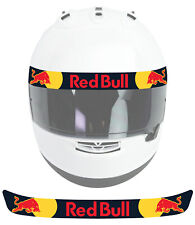 Visière Autocollant Sticker Decal Red Bull Aston Martin Racing Casque LSV006