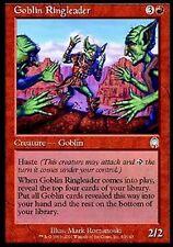 *MRM* FR Goblin Ringleader - Meneur gobelin MTG Apocalypse