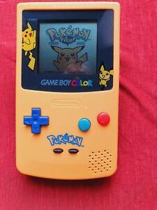 Console Nintendo Gameboy Color Pokémon Pikatchu