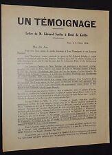 POLITIQUE JEUNESSES PATRIOTES TAITTINGER FEVRIER 1934 LIGUE SOULIER DE KERILLIS