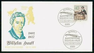 Mayfairstamps GERMANY FDC 1977 COVER WILHELM HAUFF wwm58697
