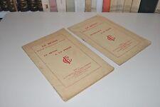 █ 2 livres sur LE BETON (A la ferme + Sa fabrication et son emploi) 1926  █