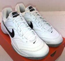the latest 04590 3a148 NIKE Court Lite Men s Tennis Shoe White Leather 845021-100 NWD