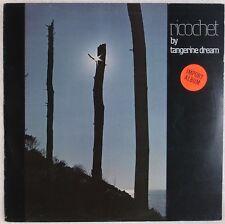 TANGERINE DREAM: Ricochet UK Virgin V 2044, Ambient Electronic Moog LP NM-