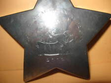 ONE preowned HEAVY PAPERWEIGHT North Star Morgan Americana 2002 HORSE metal AMHA