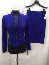 TAHARI BY ARTHUR LEVINE SUIT/NEW WITH TAG/SIZE 2/RETAIL$280/TANK  INCLUDED