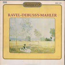 CD SINGLE 3 TITRES CLASSIQUE--RAVEL/DEBUSSY/MAHLER--1993