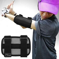 Golf Swing Trainer Elbow Brace Corrector Alignment Training Aid Tools US