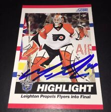 MICHAEL LEIGHTON - SIGNED - 2010/11 Score #498 Card! *Autographed* In-Person!