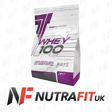 TREC NUTRITION WHEY 100 PROTEIN MUSCLE MASS GAIN 900g PEANUT BUTTER BB 5/20