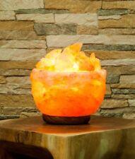 Salz-Atmosphären Lampe, Salzkristallampe, 14cm hoch, 3.2kg