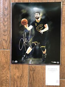 Kevin Love Autographed 16x20 Photo Cavaliers UDA Intensity Limited Edition 13/30
