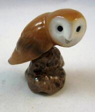 Hagen Renaker miniature made in America Barn Owl bird
