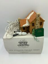 """Department 56 New England Village - """"Timber Knoll"""" Log Cabin #010"""