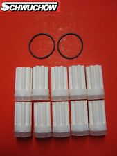 Oil Filter Heating Sintering Siku white 10 Pcs + 2 O-Rings
