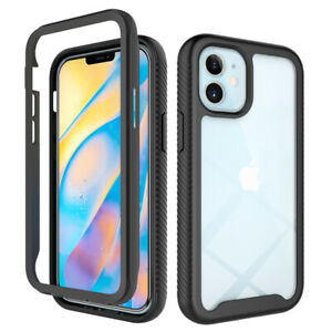 Full-Body Bumper Shockproof Case For iphone 12 11 Pro Max XR X XS SE  2020 7 8