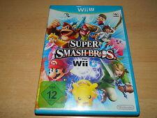 Nintendo Wii U-Super Smash Bros. - USK 12-muy buen estado