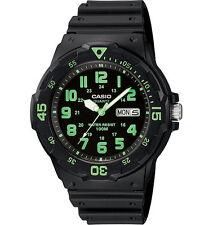Casio Mens Black Resin Dive Watch Mrw200h3bvcf