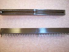 QTY (10) CELP2X80SC-3Z48 FCI 160 PIN (4X40) EDGE CARD CONNECTORS