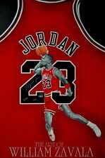 Hand Painted Jersey. By William Zavala. Michael Jordan, Kobe Bryant, ANY PLAYER!