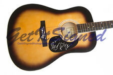"Rodney Atkins autographed acoustic guitar signed autograph w ""Cleaning This Gun"""