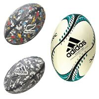 adidas New Zealand All Blacks Rugby Union Ball 4 Different Style Size 5 - RRP£25