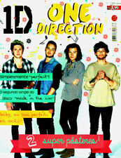 ONE DIRECTION = Rare Brazil-Only Poster Magazine HUGE 80X50CM collector LOOK!