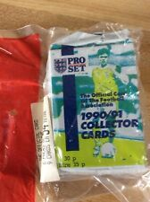 1990-91 Pro Set Official Football (Soccer) Association Lot of 6 Sealed Packs