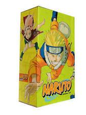 Naruto Box Set 1: Volumes 1-27 with Premium by Masashi Kishimoto (Paperback, 2008)