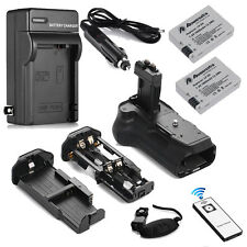 BG-E8 Battery Grip for Canon 550D T2i T3i T4i T5i +2 LP-E8 Battery+Charger+Strip