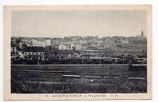 AUDUN LE ROMAN Meurthe et moselle CPA 54 train gare vue generale