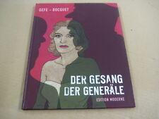 Der Gesang der Generäle - Bocquet & Gefe - Edition Moderne