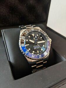 Steinhart Ocean 39 GMT premium 500 Ceramic Watch rolex batman submariner homage