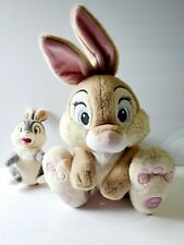 Disney Store Thumper Bunny Rabbit Plushes from Bambi - Vintage Cute