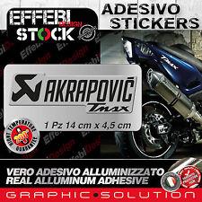 Adesivo / Sticker AKRAPOVIC YAMAHA RACING T MAX 530 500 ALTE TEMP 200°gradi