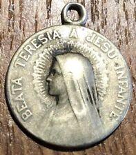 ANCIENNE MÉDAILLE RELIGIEUSE BEATA TERESIA A JESU INFANTE (296)