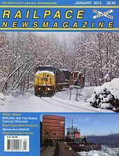 Railpace NewsMagazine January 2013 Vol 32 No 1 Welcome Back BR&W 60!