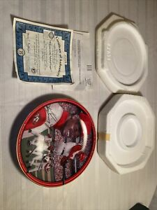ken griffey jr. Collector Plate Reds plate # 859 B Bradford Exchange. Limited Ed