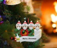 (Only 1 Head Available) 2020 Xmas Family Santa Christmas Tree Hanging.
