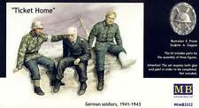 MB Masterbox - German Ticket Home wounded soldiers verweundete Soldaten 1:35 kt