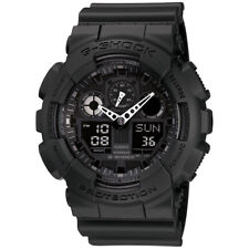 Casio Mens 55 mm G-Shock 200 M Water-Resistant Analog Digital Military Watch