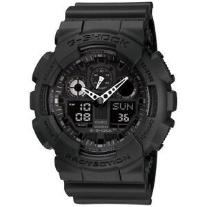 Casio Mens 55 mm G-Shock 200 M Water-Resistant Analog Digital Military Watch
