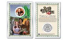 WIZARD OF OZ - Dorothy OFFICIAL JFK Half Dollar U.S. Coin in PREMIUM HOLDER