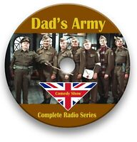 DAD'S ARMY RADIO SHOW ON CD - OLD TIME RADIO - COMPLETE 74 EPISODES AUDIO MP3